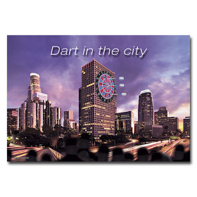 Dart-Poster Dart in the city, DIN A1