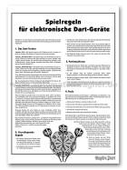 Turnier-Regeln Dart