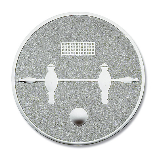 Pokal-Emblem Kicker Silber