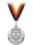 Medaille Kicker Silber mit Band