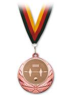 Medaille Kicker Bronze mit Band