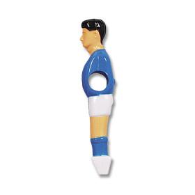 Kickerfigur für 13 mm Stangen blau