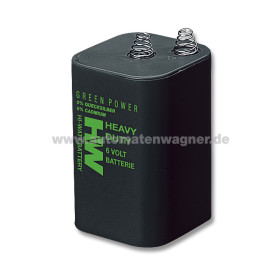 Block-Batterie 6 V f. Tischfußball