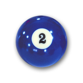 "Billardkugel Nr.2  Pool-Ball ""Favorite"" Nr. 2..."
