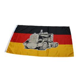 Flagge Deutschland LKW 90 x 150 cm