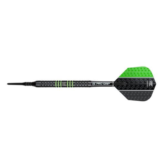 Target Softdarts VAPOR8 Black green 18g