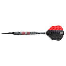Target Softdarts VAPOR8 Black red 19g
