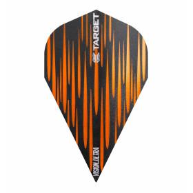 Target Flights VISION ULTRA Spectrum Orange Vapor 8