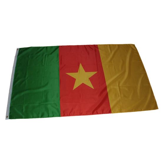 Flagge Kamerun 90 x 150 cm