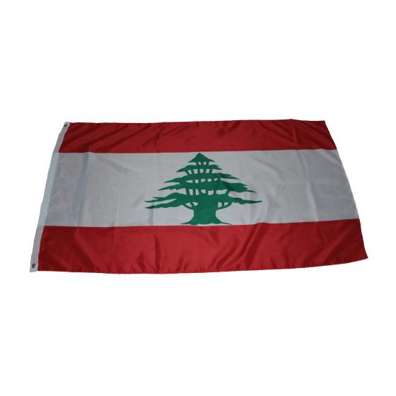 Flagge Libanon 90 x 150 cm