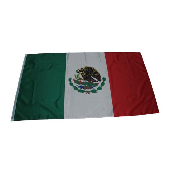 Flagge Mexiko 90 x 150 cm