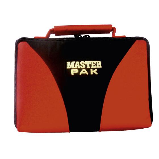 """Darttasche """"MASTER PAK Multi"""" rot/schwarz"""