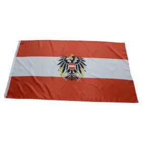 Flagge Österreich mit Adler 90 x 150 cm