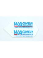 Flight Set Wagner weiß Slim (3 Stück)