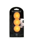 Kickerball Bomber ROBERTSON, orange, 35,1 mm, 3 Stück im Set