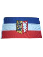 Flagge Schleswig Holstein mit Wappen 90 x 150 cm