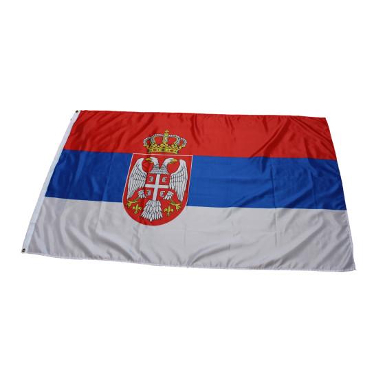 Flagge Serbien 90 x 150 cm
