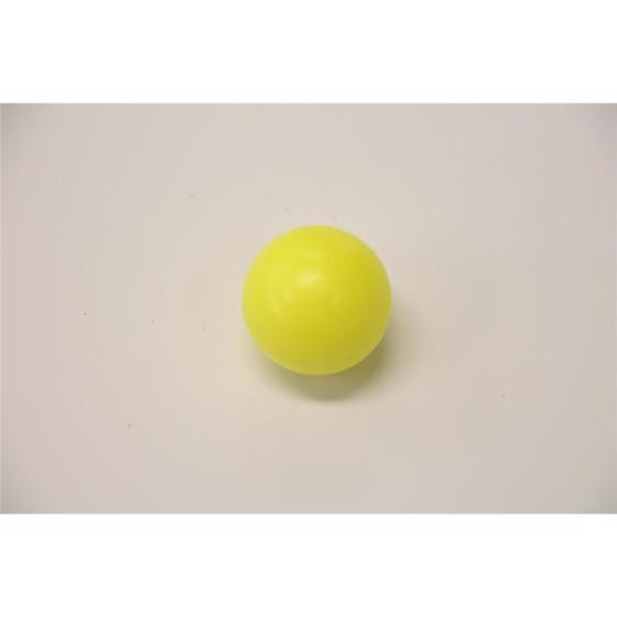 Kicker-Ball hart, glatt, neon gelb