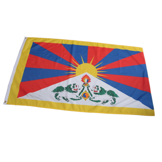 Flagge Tibet  90 x 150 cm