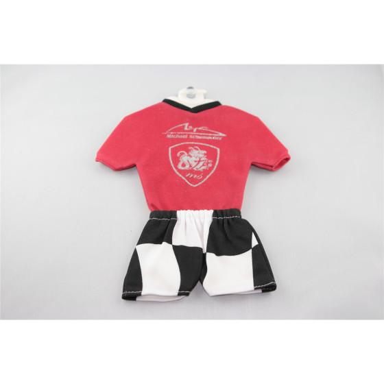 Michael Schumacher Miniatur Fussball-Set original Mini-Kit