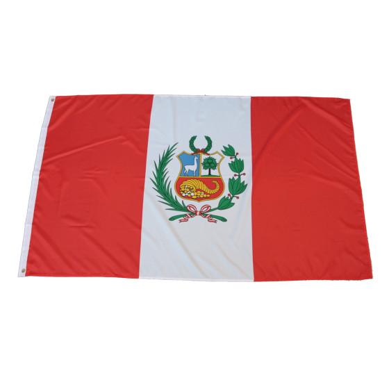 Flagge Peru 90 x 150 cm