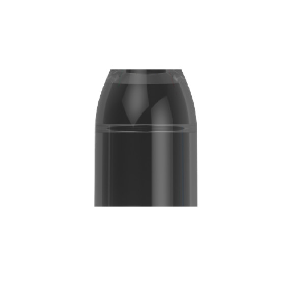 L-Style Champagne Ring schwarz (6 Stück)