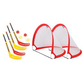 Bandito Funhockey Komplettset mit 2x2er Set Schläger...