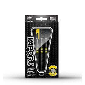 Target Soft Dartpfeile VAPOR8 Black yellow 19g