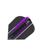 Target Flights VISION ULTRA Purple Vapor 8 Black No6