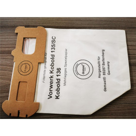 Staubsaugerbeutel geeignet für Vorwerk Kobold 135SC/136 (6 Stück)