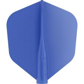 8 Flight Blue No 6 Shape blau