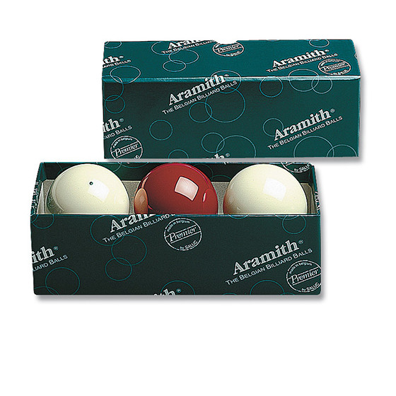 Karambol-Ball-Satz 61,5 mm Aramith