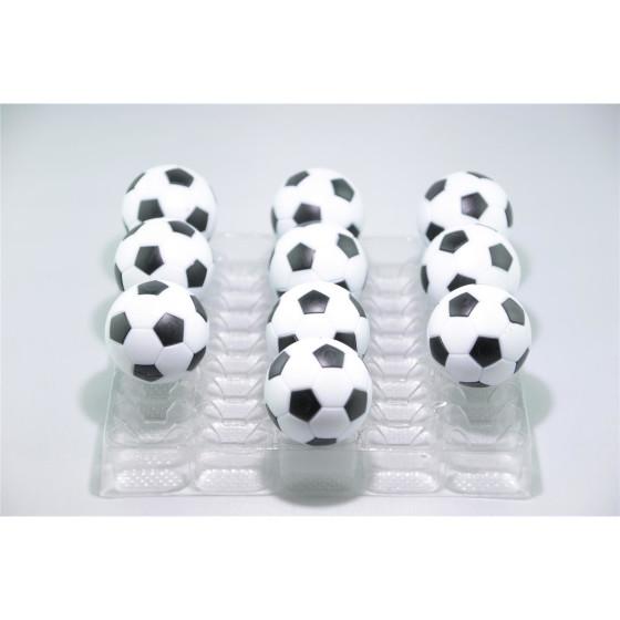 Kickerball Winspeed by Robertson 35 mm, weiß / schwarz, Set mit 10 Stück