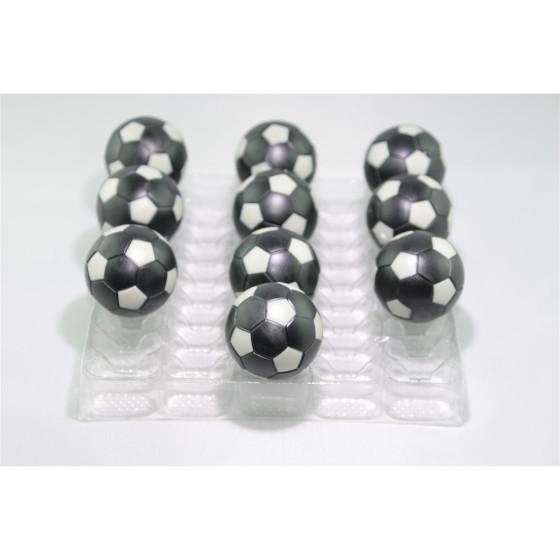 Kickerball Winspeed by Robertson 35 mm, schwarz / silber, Set mit 10 Stück