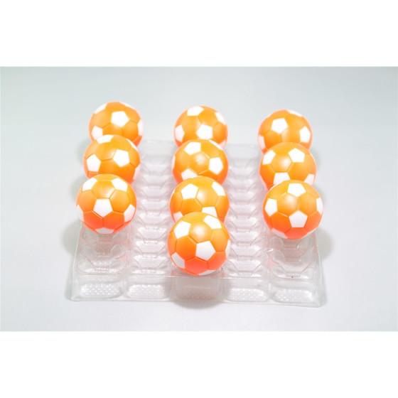 Kickerball Winspeed by Robertson 35 mm, orange / weiß, Set mit 10 Stück