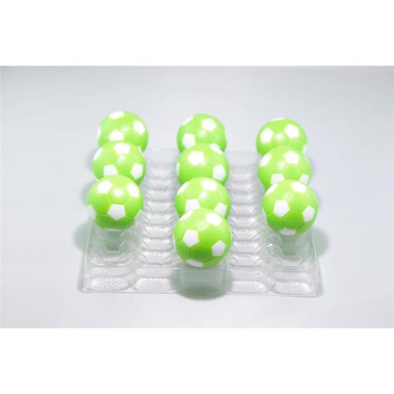 Kickerball Winspeed by Robertson 35 mm, grün / weiß, Set mit 10 Stück