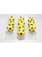 Kickerball Winspeed by Robertson 35 mm, gelb / schwarz , Set mit 10 Stück
