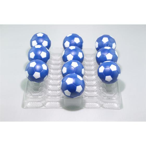 Kickerball Winspeed by Robertson 35 mm, blau / weiß, Set mit 10 Stück