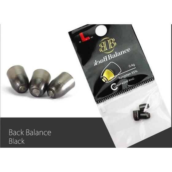 L-Style Champagne Ring Back Balance schwarz
