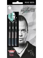 Bull´s Steeldarts Max Hopp The Maximiser 80% Dart 22g