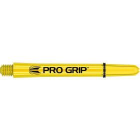 Target Schäfte Pro Grip medium 48mm gelb