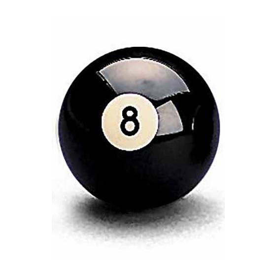 Pool-Ball Aramith Nr. 8 - 57,2 mm