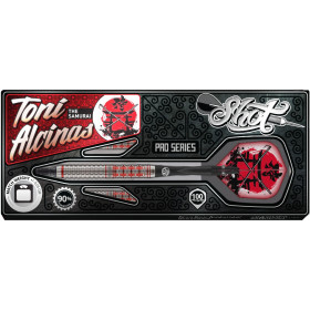 "Shot Softdarts Toni Alcinas ""The Samurai""  90%Tungsten Dart 20g"