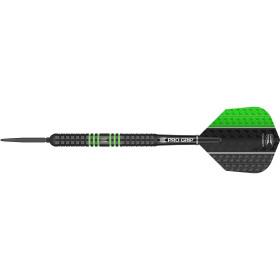 Target Steel Dartpfeile VAPOR8 BLACK GREEN SWISS POINT