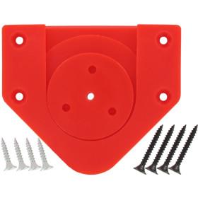 BULLS Profix Bristle Board Wandhalter, Rot, 1 Stück