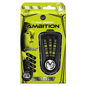 Winmau Steeldarts MvG Ambition Brass 22g