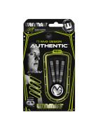 Winmau Steeldarts MvG Authentic 85% Tungsten Darts 24g