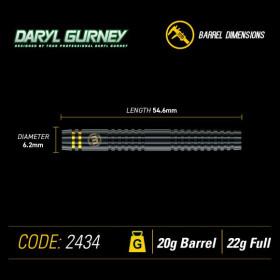 Winmau Softdarts Daryl Gurney Spezial Edition Black 22g