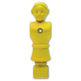Kickerfiguren 11er Set Soccer Queen Gelb