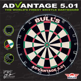 Bulls Advantage 501 Dartboard Dartscheibe